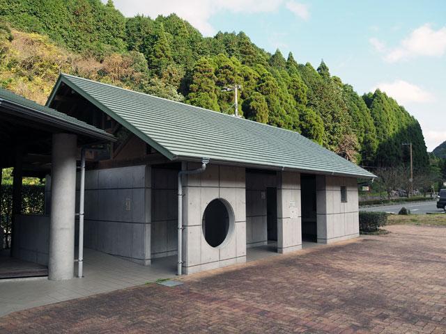 一ノ瀬親水公園のトイレ